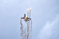 Belgian F-16 on Radom Airshow, Poland Royalty Free Stock Photography