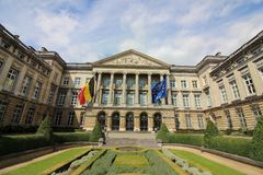 Belgian Federal Parliament royalty free stock photos