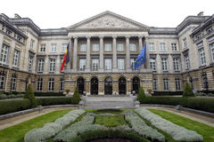 Belgian Federal Parliament in Bruxelles Royalty Free Stock Photography