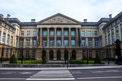 Belgian Federal Parliament Stock Photo