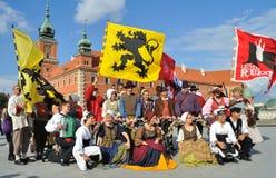 Belgian folklore Stock Image