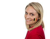 Belgian Girl Royalty Free Stock Photography
