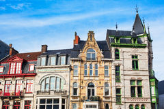 Belgian house Royalty Free Stock Images