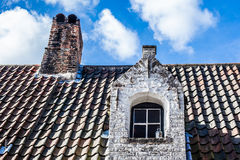 Belgian house Stock Photo