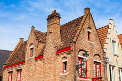 Belgian house Stock Photo
