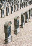 Belgian miitary cemetery Royalty Free Stock Photos
