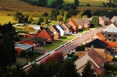 Belgian neighborhood. Near to Zilvermeer Stock Photos