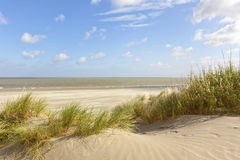 Belgian North Sea beach at Knokke-Heist Stock Photo