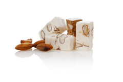 Belgian Nougat Isolated Royalty Free Stock Image