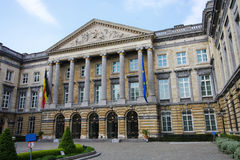 Belgian parliament building Stock Photo
