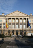 Belgian parliament building Royalty Free Stock Photo