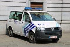 Belgian Police car Stock Photography