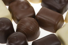 Belgian pralines Royalty Free Stock Photos