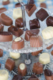 Belgian pralines. Royalty Free Stock Photography