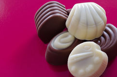 Belgian pralines chocolate Royalty Free Stock Image