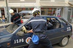 Belgian rescue service Stock Image