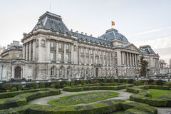 Belgian Royal Palace in Brussels. The Belgian Royal palace in Brussels, in neo-classic style Stock Photos