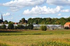 Belgian rural landscape Royalty Free Stock Images