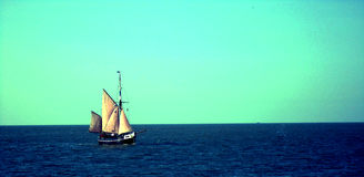 Belgian Sailboat Royalty Free Stock Image