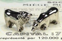 Belgian share Stock Photography