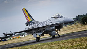 Belgian Solo Display F-16 Royalty Free Stock Images