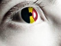 Belgian supporter Stock Photo