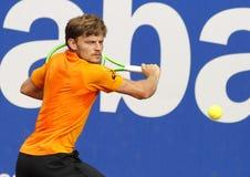 Belgian tennis player David Goffin Royalty Free Stock Images