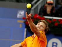 Belgian tennis player David Goffin Royalty Free Stock Photo