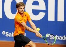 Belgian tennis player David Goffin Stock Image
