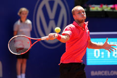 Belgian tennis player Steve Darcis Stock Photography