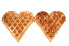 Belgian wafer stock image