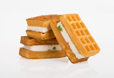 Belgian wafers Royalty Free Stock Image