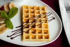 Belgian wafers Stock Photo