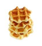Belgian waffle Stock Images