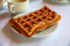 Belgian waffle Royalty Free Stock Image