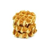 Belgian waffles. Stock Image