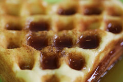 Belgian waffles Royalty Free Stock Photo