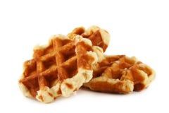 Belgian waffles Stock Photos