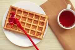 Belgian waffles Stock Image