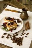 Belgian waffles series 37 Royalty Free Stock Photo