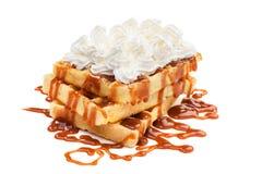 Belgian waffles Royalty Free Stock Image