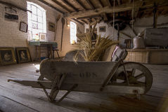 Free Belgian Watermill Interior Royalty Free Stock Images - 91440759