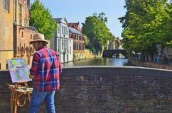 Belgien, Brügge Lizenzfreie Stockfotos