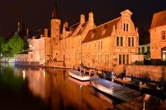 Belgien Bruges Arkivfoton