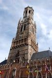 Belgien bruges arkivfoto