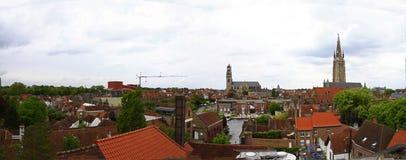 Belgien bruges Royaltyfri Bild