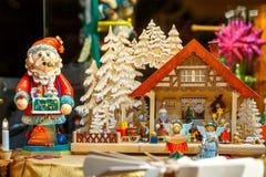 Belgien brugge julmarknad Fotografering för Bildbyråer