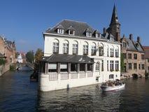 Belgien brugges Royaltyfri Bild
