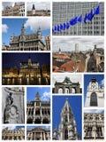 Belgien brussels Arkivbild