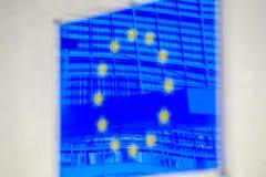 Belgien brussels för Europa euflagga land Royaltyfri Fotografi